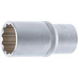 """Llave de vaso largo Pro-Torque ® 12 caras 1/2"""" 30 mm"""