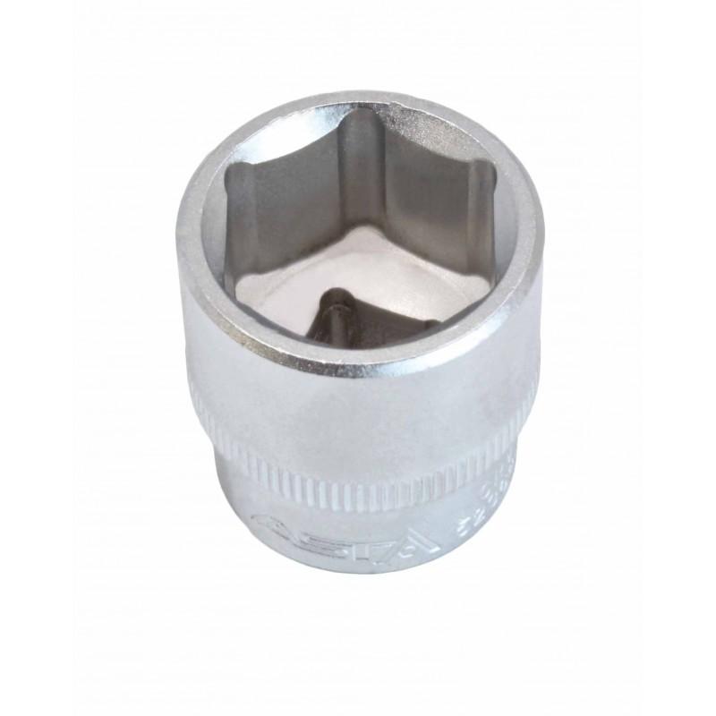 """Llave de vaso corto 3/8"""" 6 caras Pro Torque® 21mm."""
