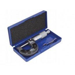 Micrómetro , graduación 0.01 mm, 0-25 mm