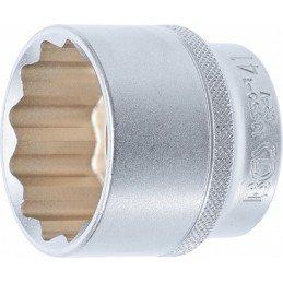"""Llave de vaso corto Pro-Torque ® 12 caras 1/2"""" 41 mm"""