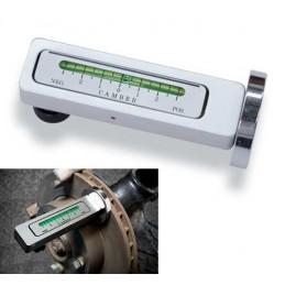 Nivelador de caída de ruedas magnético de doble ajuste