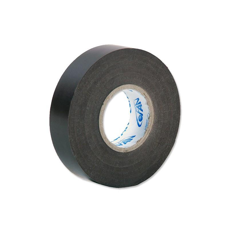 Cinta Aislante Negra de PVC 20m x 19mm
