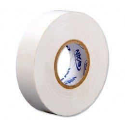 Cinta Aislante Blanca de PVC 20m x 19mm