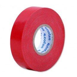 Vermelho de isolação PVC fita 20 m x 19 mm