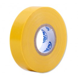 20 M x 19 mm de fita isolante de PVC amarelo