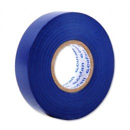 Cinta Aislante Azul de PVC 20m x 19mm
