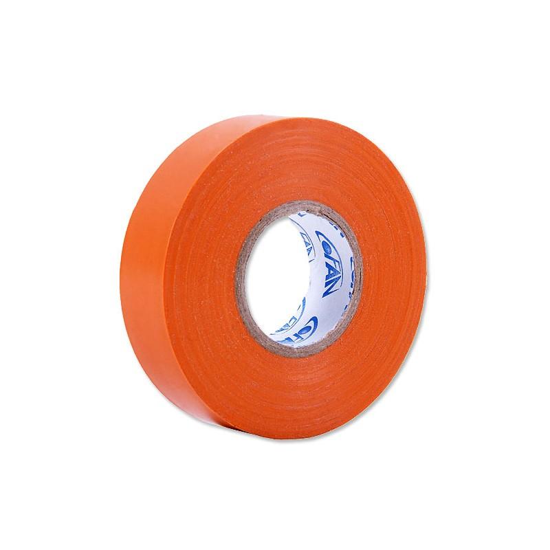 Cinta Aislante Naranja de PVC 20m x 19mm