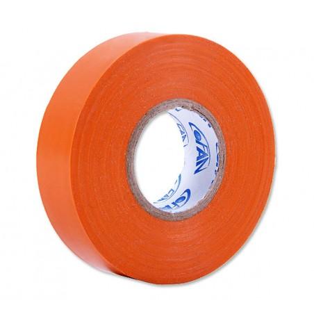 Fita de isolamento PVC laranja 20 m x 19 mm