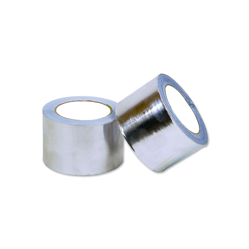 Cinta de Aluminio 30 Micras 75mm x 45mts