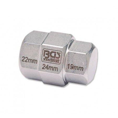 Llave de vaso especial para motocicletas | 19 - 22 - 24 mm