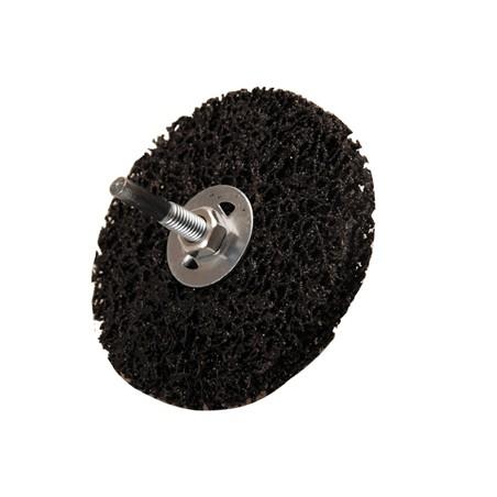 Muela abrasiva, negro, Ø 100 mm. agujero de sujeción 16 mm.