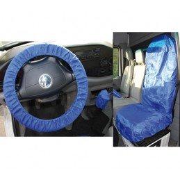 Protector universal del volante y el asiento, polyester