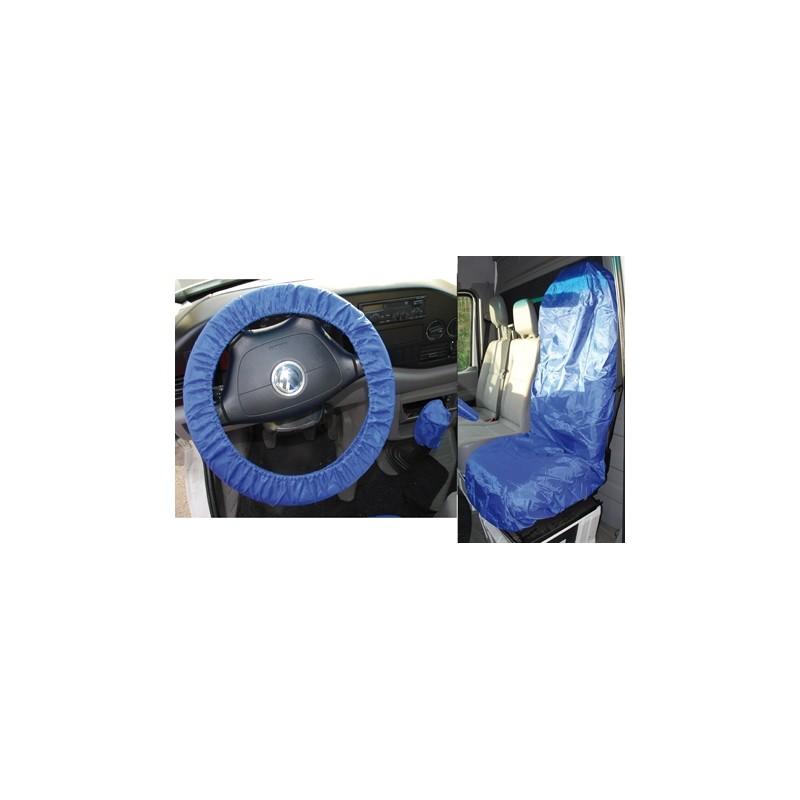 Universal shield direção rodas e assento, poliéster