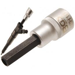 "1/2 ""extremidade sextavada vidro 10mm injector"""