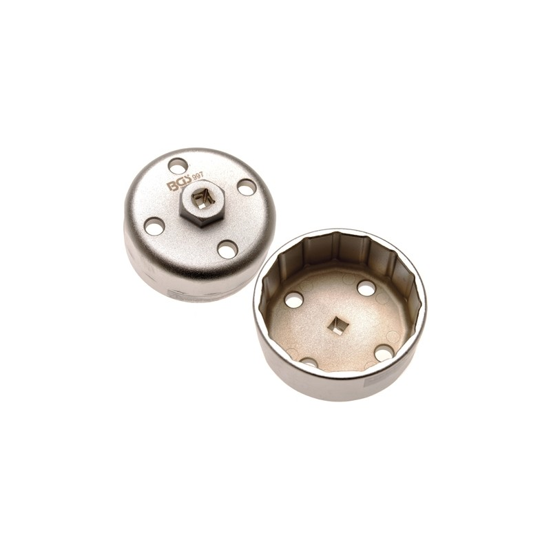 Chave filtro óleo Hyundai / Kia 88 mm x 15 faces