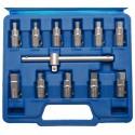 Conjunto 12 peças de chaves de tampa da manivela