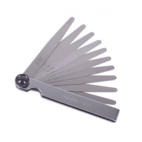 Juego 20 Galgas de Espesores 10mm. 0.5-1.00