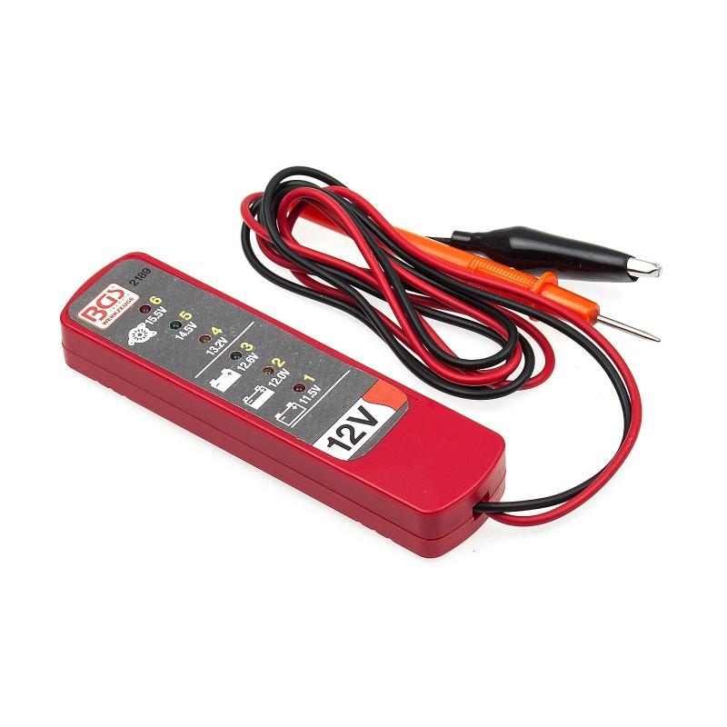 Tester de baterías y alternador