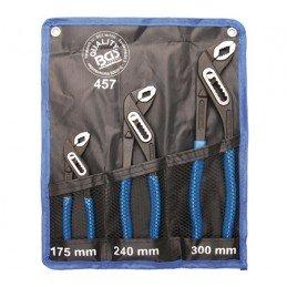 Juego 3 piezas de tenazas de apertura multiple DIN 5231