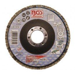 Disco de láminas de 115 mm de diámetro, grano 120