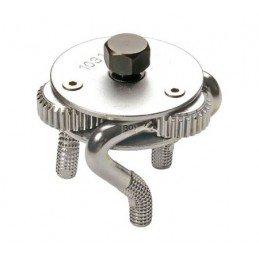 Llave de filtro de tres garras 45-75 mm.