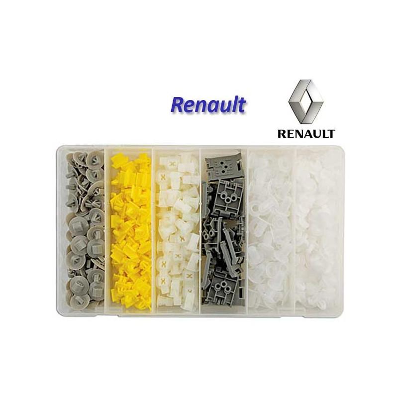 Surtido 300 Pcs. grapas para Renault