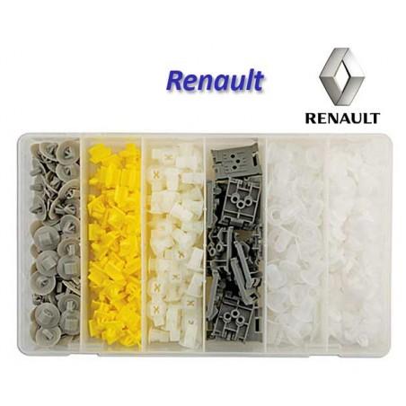 Surtido 300 grapas para Renault