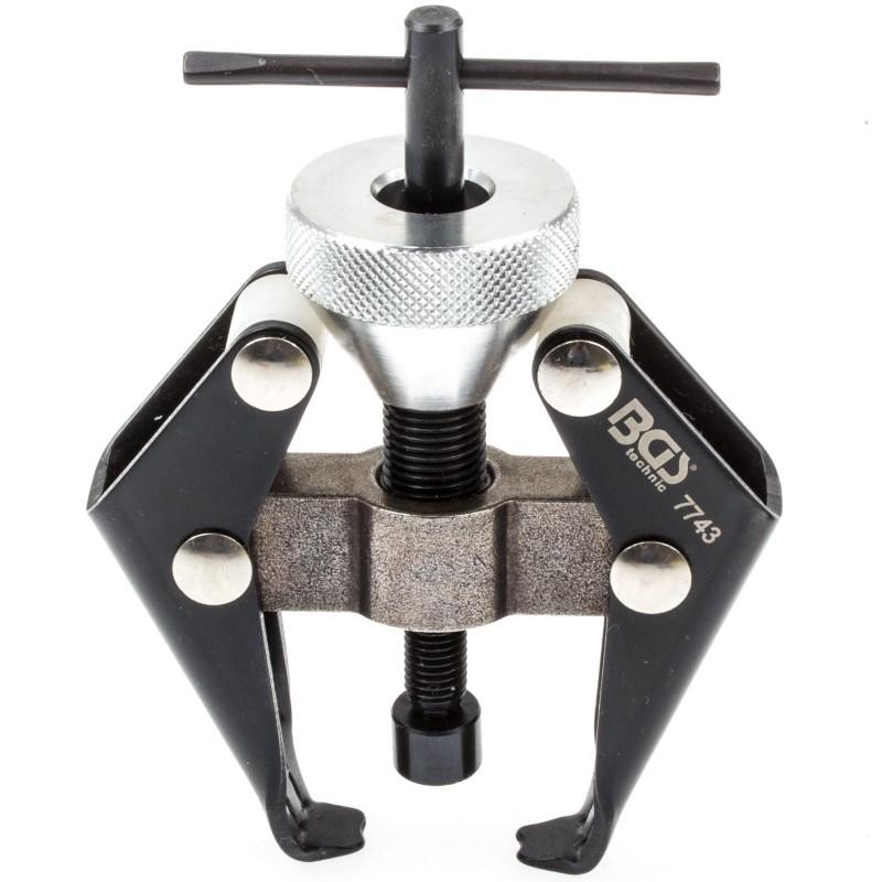 Extractor de dos brazos para terminales de bateria y brazos de limpia parabrisas