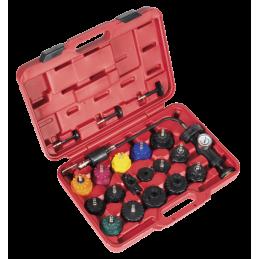 Kit para verificar os circuitos de refrigeração