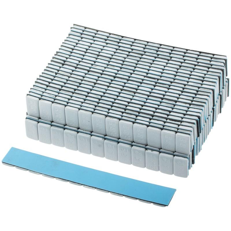 Juego 50 piezas de contrapesos de equilibrado de ruedas, 12 x 5 g