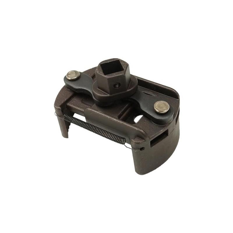 Llave del filtro de aceite ajustable 60-80mm.