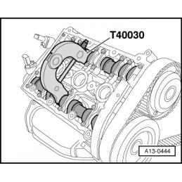 Tiragem do jogo de distribuição AUDI V6 30V