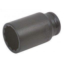 """Llaves de vaso impacto 12 caras 1/2"""" 33 mm (Especial Bujes) BGS-5339"""