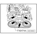 Juego de calado distribución motores VAG 1.2/1.4TFSi y 1.4/1.6FSi