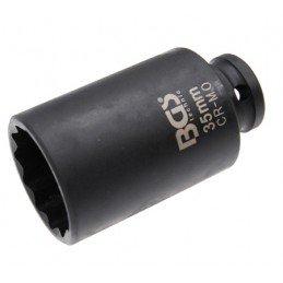 Llave de vaso impacto 12 caras 35mm. (Especial bujes). BGS-5341