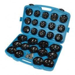 Jogo 30 peças chaves de filtro de óleo