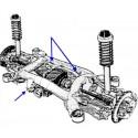 8-peça Silent Block para BMW E38, E39 conjunto de extrator