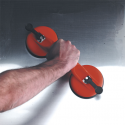 Borracha de sucção dupla Ø120mm