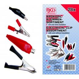 28 piezas de pinzas eléctricas