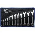 Juego 12 llaves fijas (dos bocas) 6x7-30x32 mm BGS-1184