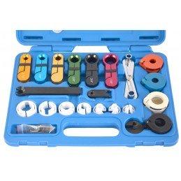 22 peças conjunto de conectores e seccionadores de tubos
