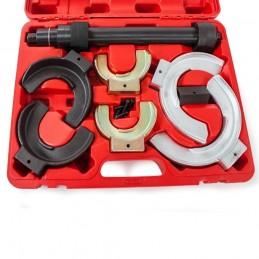 Suspensão de mola compressor com 3 pares de garras