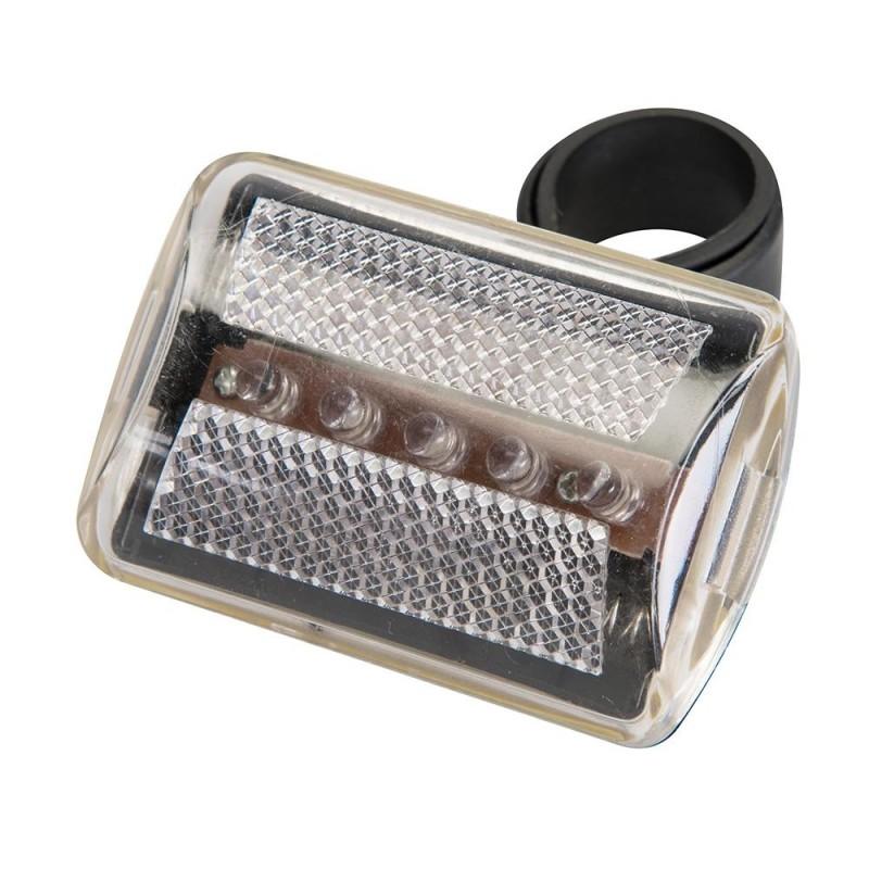 5 LED para luz de moto transparente