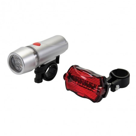 Juego de luces 5 LED para bicicleta