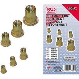 M10 junta de cobre 10x16x1 mm 25 unid.