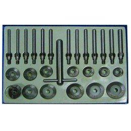 27 peça conjunto para assentos de válvula de corte, 30-60 mm
