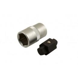 Llave reversible 8x10 mm. para tapón de drenaje del cárter (BGS-8991)