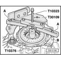 Jogo de reparação da embreagem de dupla face para transmissão DSG VAG