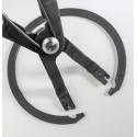 Alicates para circlips interiores sin ojos de cojinetes de rueda (BGS-8936)