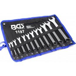 Juego12 llaves combinadas 6-22 mm BGS - 1197